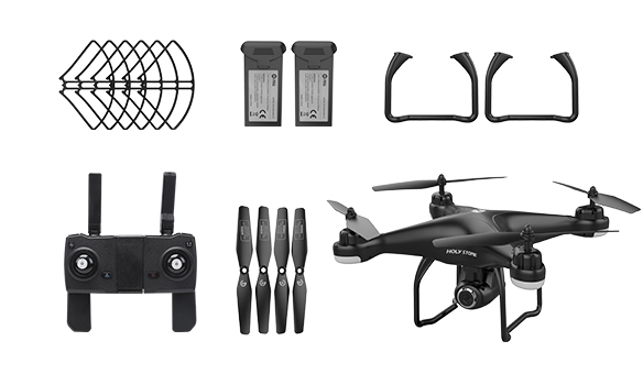 Holy Stone HS720 Black RC Drone Quadcopter Spare Parts Accessories Blades Kits